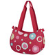 KlickFix Stylebag - Sac porte-bagages - Funky Dots 2 rouge/Multicolore